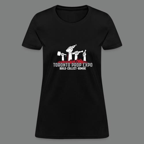 Toronto Prop Expo Skyline on Women's Standard Weight Tee - Women's T-Shirt