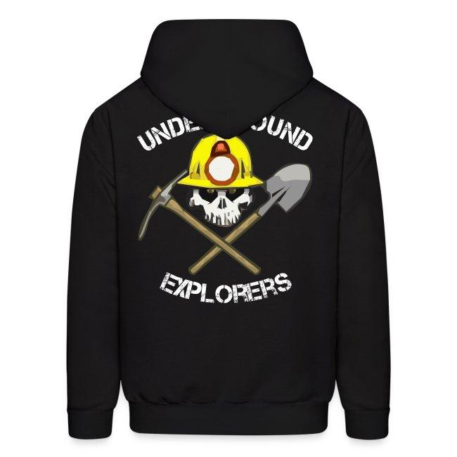 Underground Explorers Black Hoodie