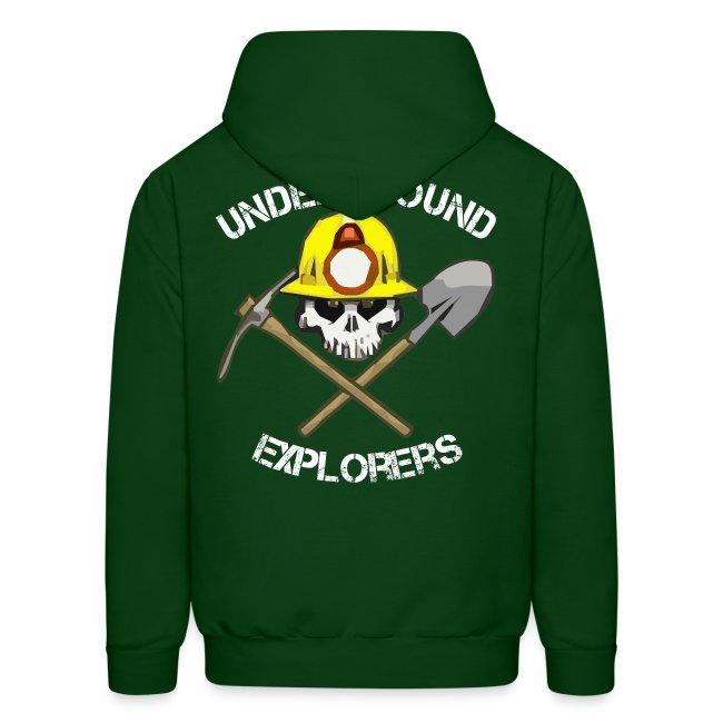 Underground Explorers Green Hoodie