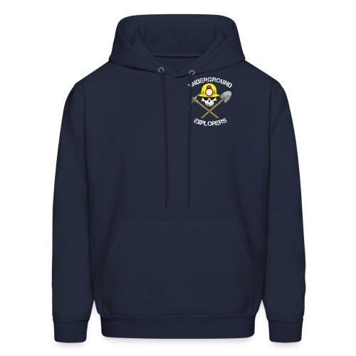 Underground Explorers Navy Blue Hoodie - Men's Hoodie