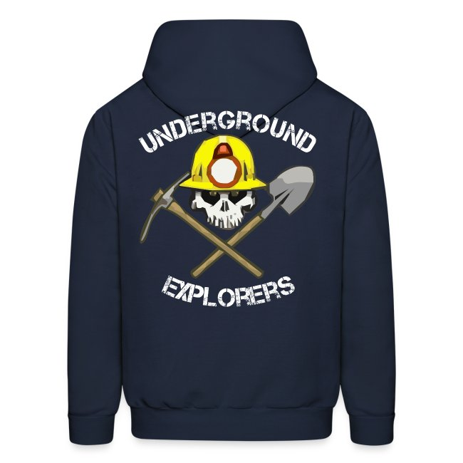 Underground Explorers Navy Blue Hoodie