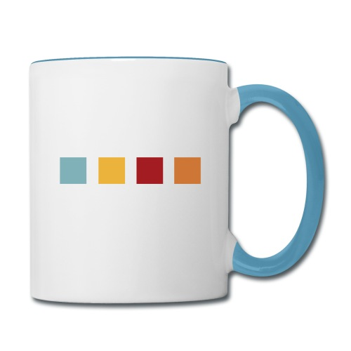 FUN Squares - Contrast Coffee Mug