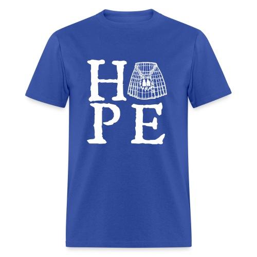 Hope with Kilt - Men's T-Shirt
