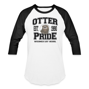 Otter Pride - Baseball T-shirt (more colors available) - Baseball T-Shirt