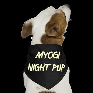 Midnight Pup. - Dog Bandana