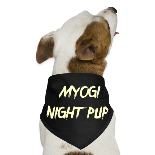Midnight Pup. - Dog Bandana