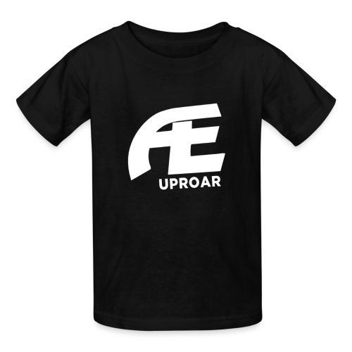 AE: Kid's T-Shirt (Black) - Kids' T-Shirt