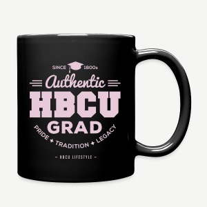 HBCU Grad Mug - Pink and Black - Full Color Mug