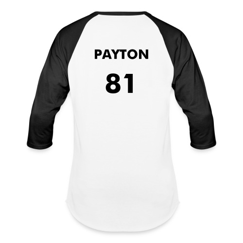 Payton 81 Official Baseball Tee - Baseball T-Shirt