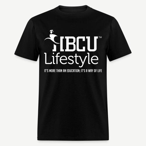 HBCU Lifestyle - Men's Ivory and Black T-Shirt - Men's T-Shirt