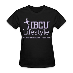 HBCU Lifestyle - Women's Lavender and Black T-Shirt - Women's T-Shirt