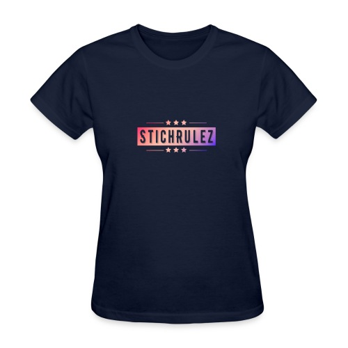 StichRulez Star Fade - Women's T-Shirt