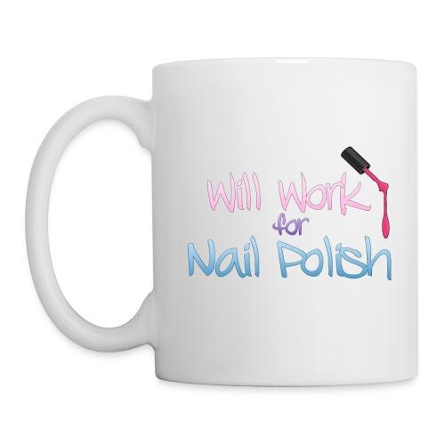 Will Work For Polish  - Coffee/Tea Mug