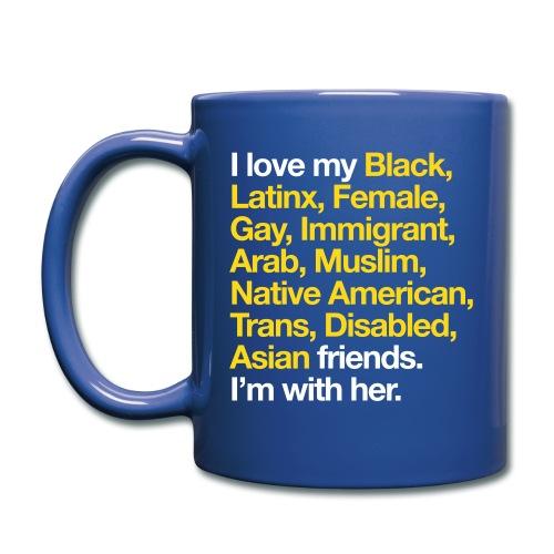I Love My Friends Mug - Full Color Mug