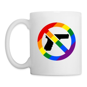 LGBT No Guns Mug - Coffee/Tea Mug