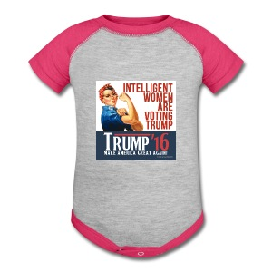 Intelligent Baby Trump     - Baby Contrast One Piece