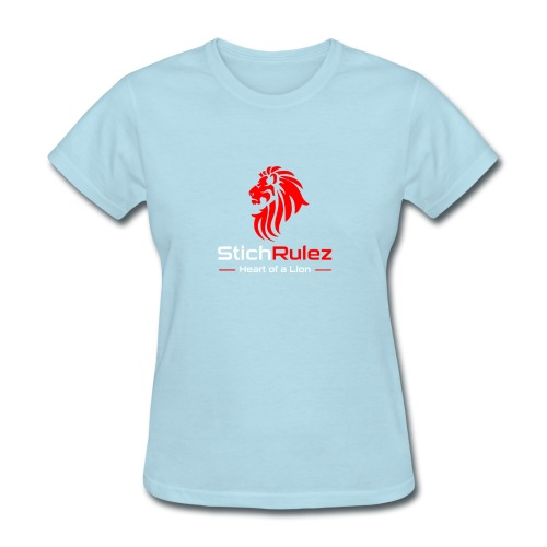 StichRulez Lion's Heart - Women's T-Shirt