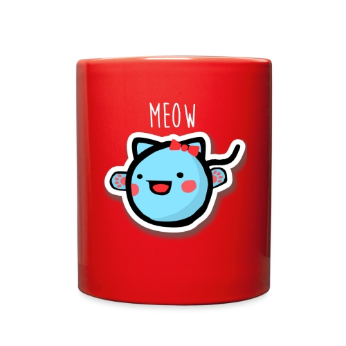pea kitty mug - Full Color Mug