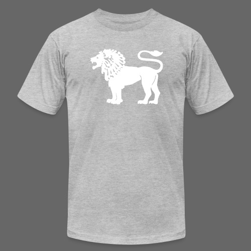 Lion Strong - Men's T-Shirt by American Apparel
