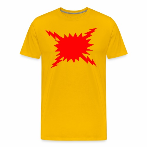 Not The Flash - Men's Premium T-Shirt