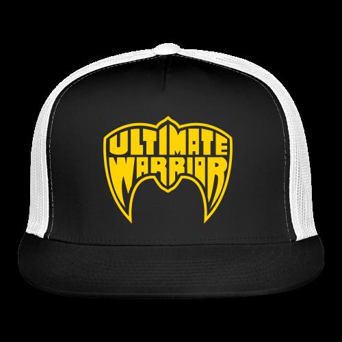 Ultimate Warrior Retro Logo Baseball Cap - Trucker Cap
