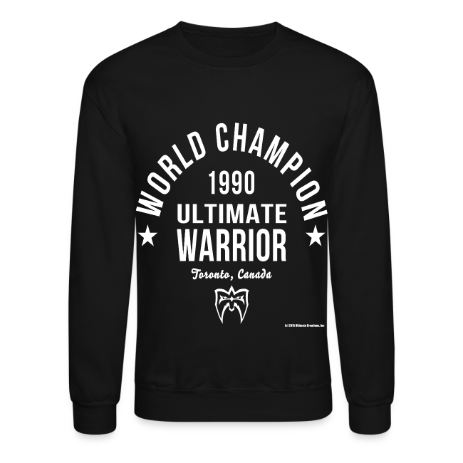 Ultimate Warrior Champion Sweatshirt