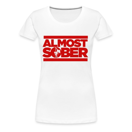 Almost Sober Wmns T- Pole Fanatic - Women's Premium T-Shirt