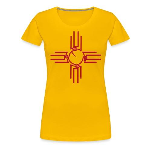 Women's New Mexico Zia Phylogeny - Women's Premium T-Shirt