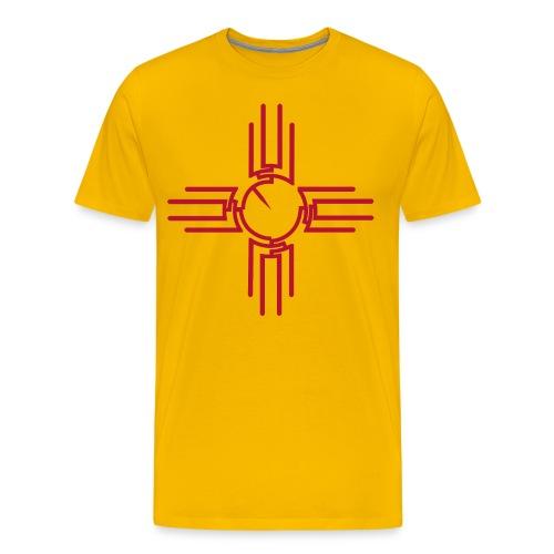 Men's New Mexico Zia Phylogeny - Men's Premium T-Shirt