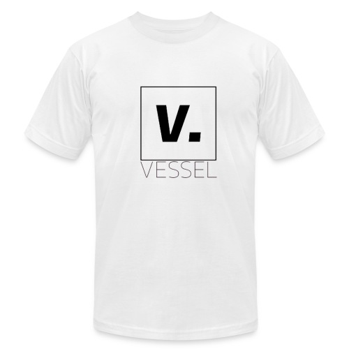 VESSEL x AMERICAN APPAREL || GOD WHITE VARIENT TEE - Men's Fine Jersey T-Shirt