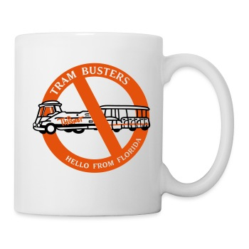Tram Buster Mug - Coffee/Tea Mug
