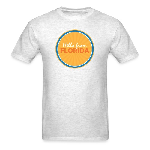 Men's Hello From Florida - Men's T-Shirt