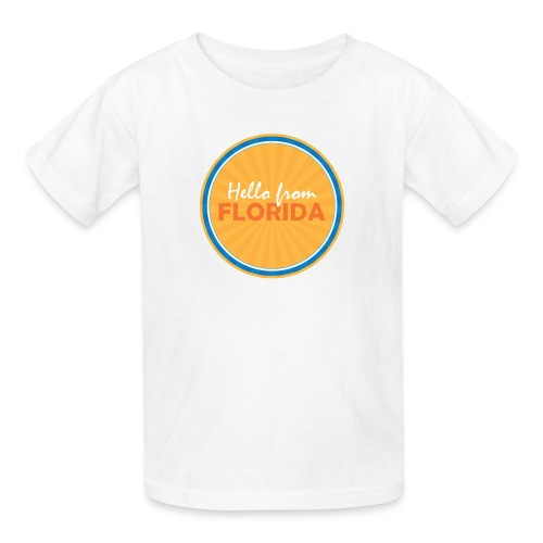Kid's Hello From Florida - Kids' T-Shirt