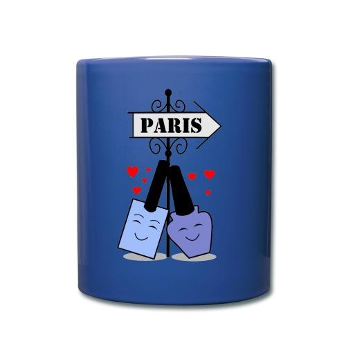 nail polishes in love - Full Color Mug
