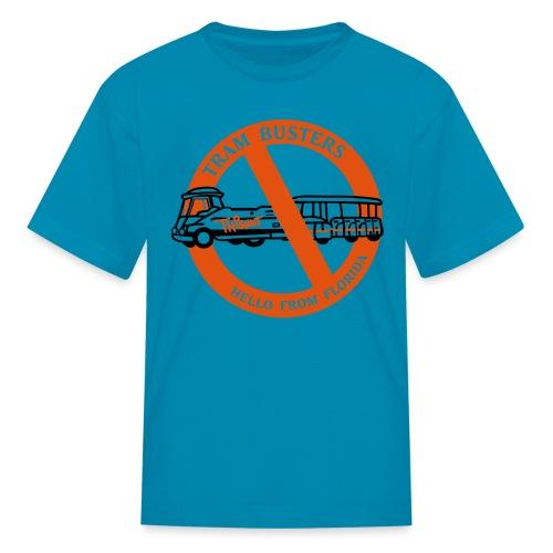 Kids's Tram Buster - Kids' T-Shirt
