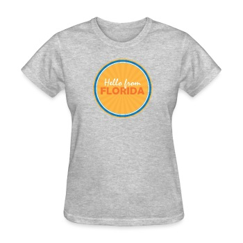 Women's Hello From Florida - Women's T-Shirt