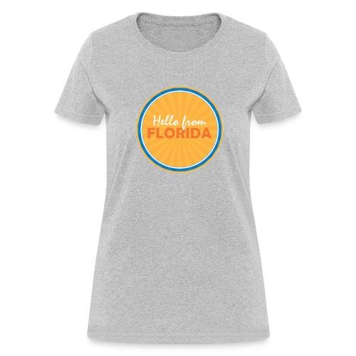 Women's Hello From Florida - Women's T-Shirt