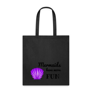 green bag mermaid - Tote Bag