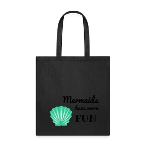 purple bag mermaid - Tote Bag
