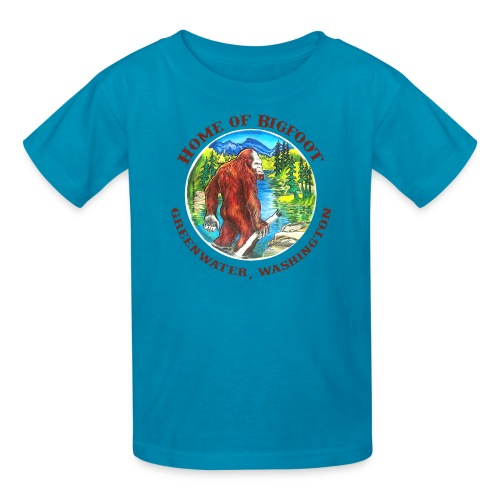 Home of Bigfoot Kid's T-Shirt - Kids' T-Shirt