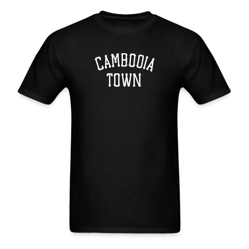 Cambodian Town - Men's T-Shirt