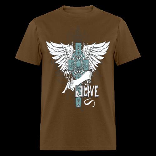 bELIVE (Teal) - Men's T-Shirt
