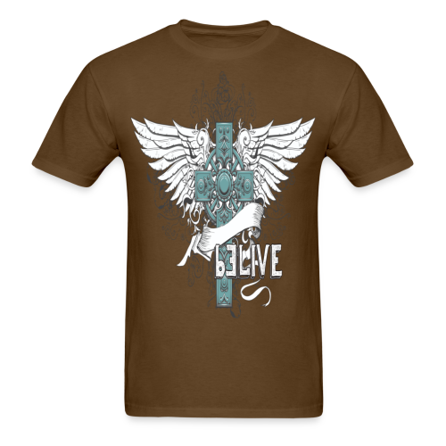 bELIVE (Teal) - Men's T-Shirt