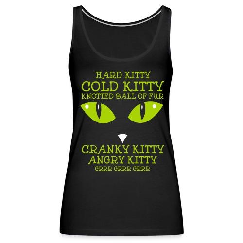 Angry Kitty - Women's Premium Tank Top