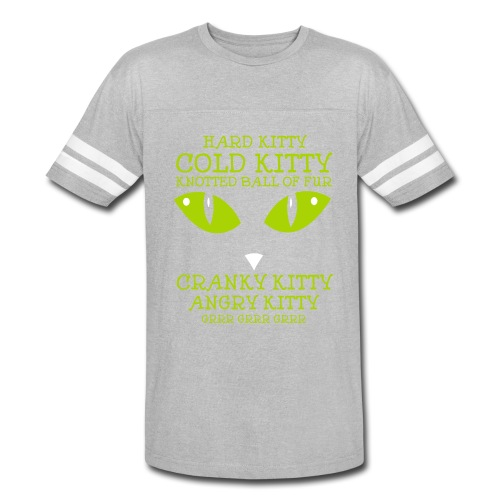 Angry Kitty - Vintage Sport T-Shirt