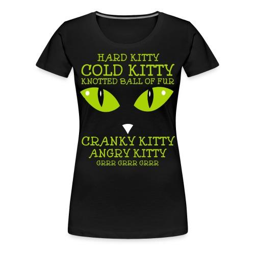 Angry Kitty - Women's Premium T-Shirt