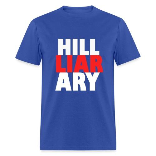 Hill-LIAR-ary Shirt - Men's T-Shirt