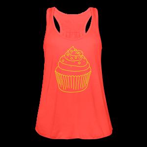Cupcake - Women's Flowy Tank Top by Bella