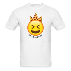 Pizza King: Eat Pizza Everyday - Men's T-Shirt
