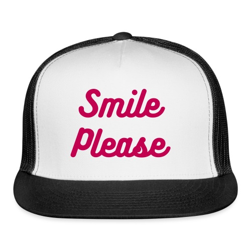 Smile Please - Trucker Cap - Trucker Cap